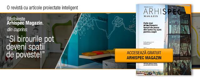 Arhispec Magazin - O revista cu articole proiectate inteligent