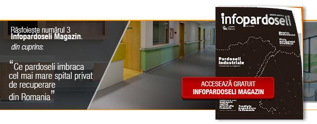 InfoPardoseli Magazin 3 - Singura revista digitala dedicata pietei pardoselilor
