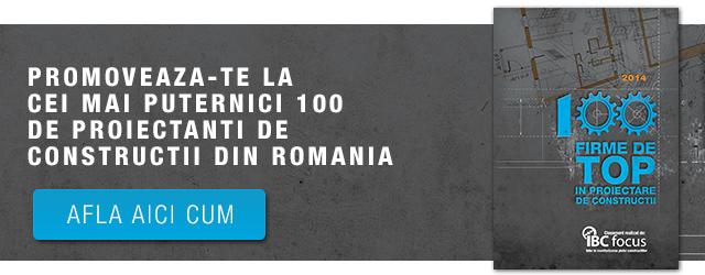 Promoveaza-te la cei mai puternici 100 de proiectanti de constructii din Romania